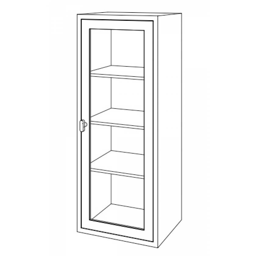"""Miscellaneous Supply Cabinet - 24 1/8""""W x 18""""D x 60""""H"""