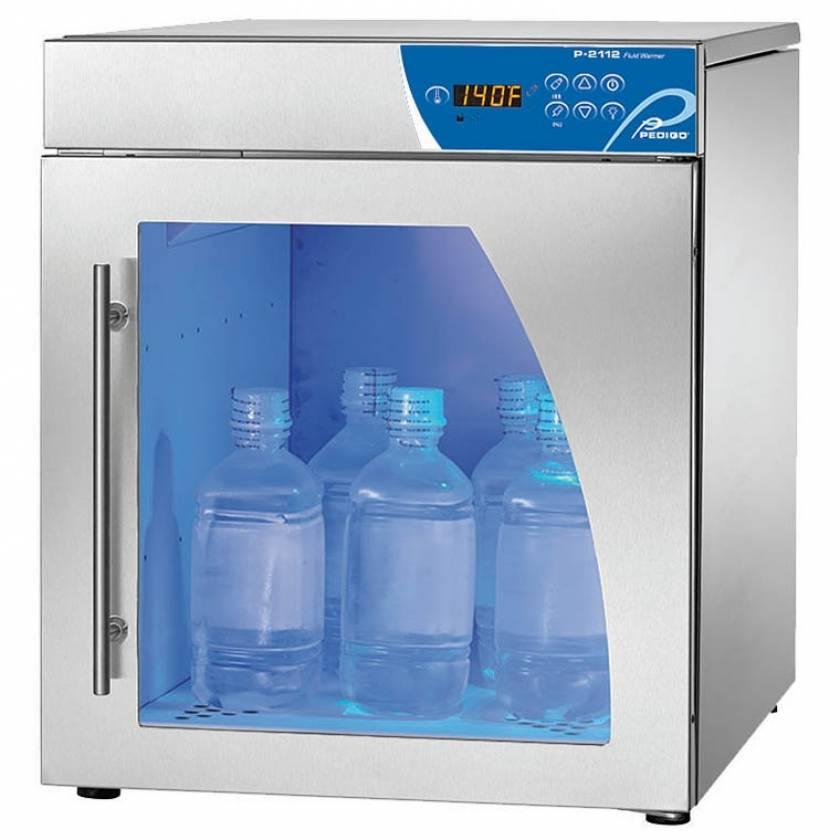 Pedigo Deluxe Fluid Warming Cabinet - 2.5 Cubic Feet - Window Glass Door