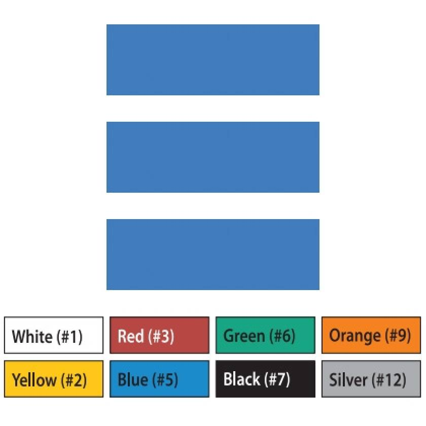 "Pre-Cut Magna Ribbon Strips - 3/8""H x 3""L"