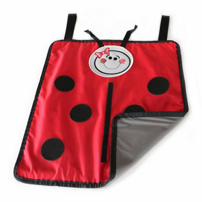 Ped Pal Radiation Shield - Ladybug Design