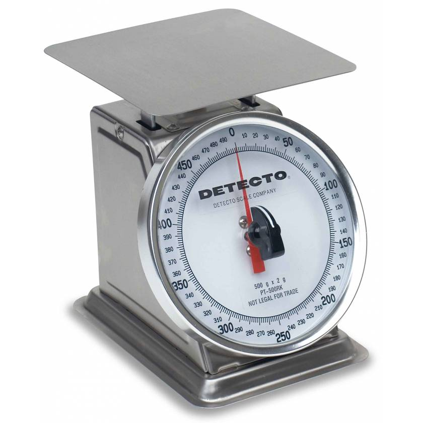 Top Loading Rotating Dial Scale Stainless Steel Finish 500 Gram Capacity