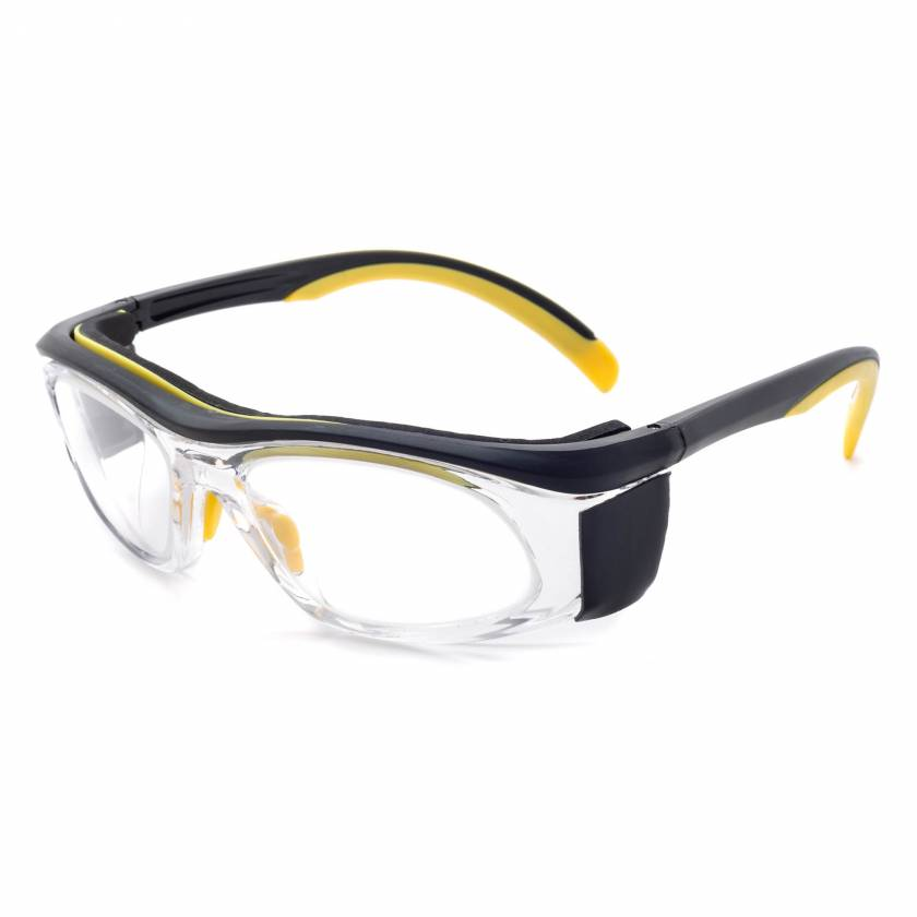 Model 206 Economy Radiation Glasses - Yellow/Black Clear