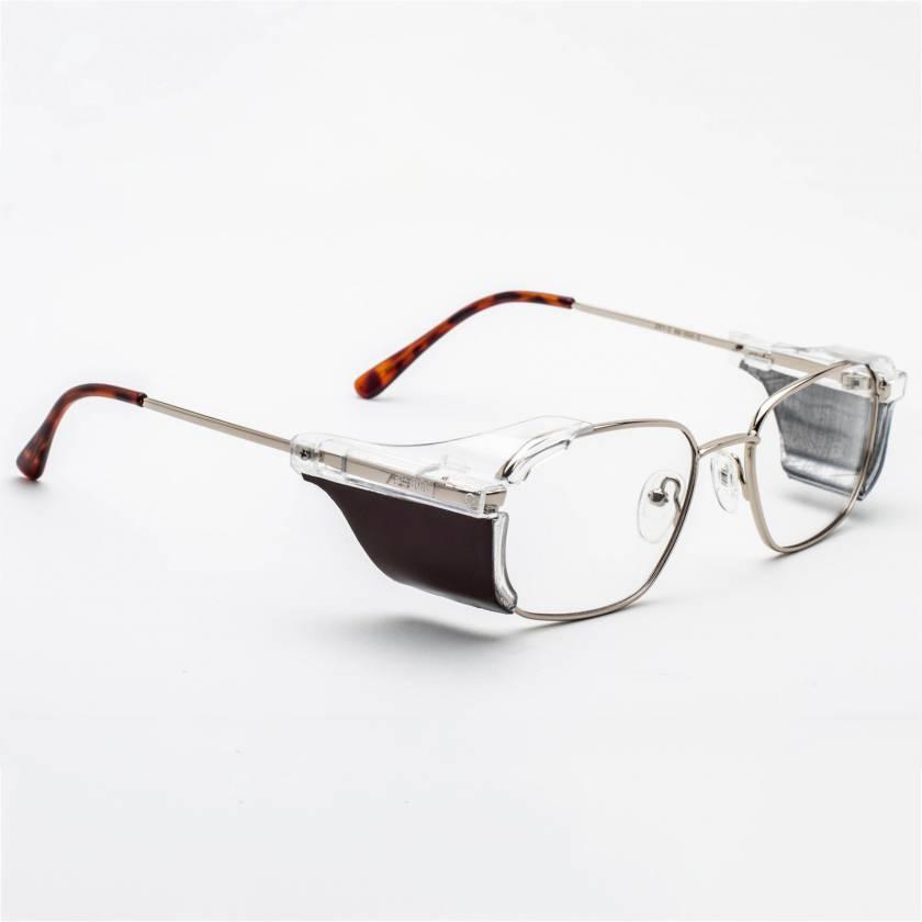RG-553 Metal Frame Radiation Glasses - Antique Gold