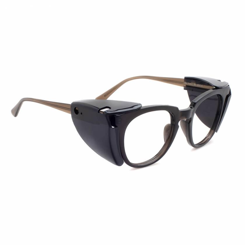 Economy Wayfarer Radiation Glasses Model 70