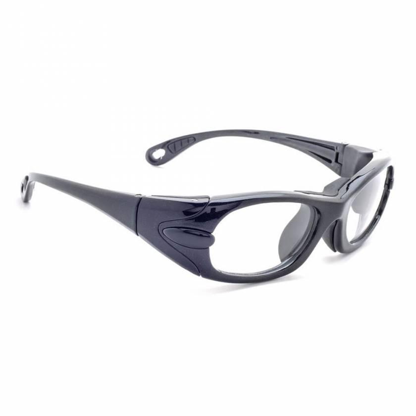 Model EGM Wrap Around Radiation Glasses - Black