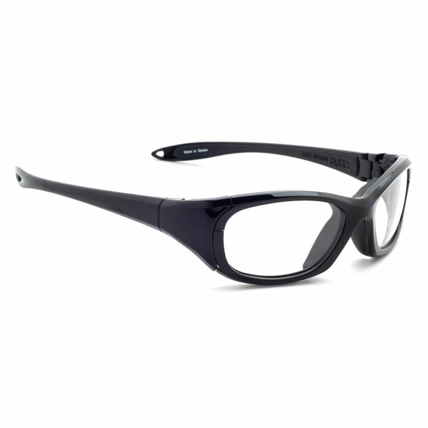 Wrap Around Radiation Glasses Model MX30 - Black