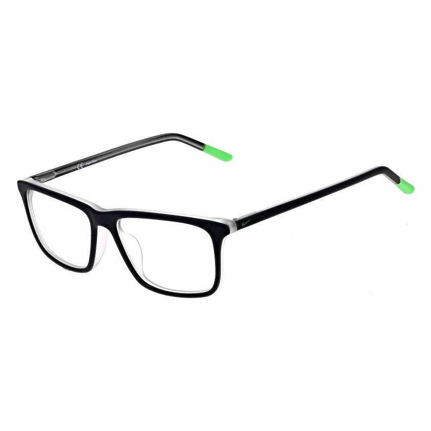 Nike 5541 Radiation Glasses Matte Black Electric Green 012