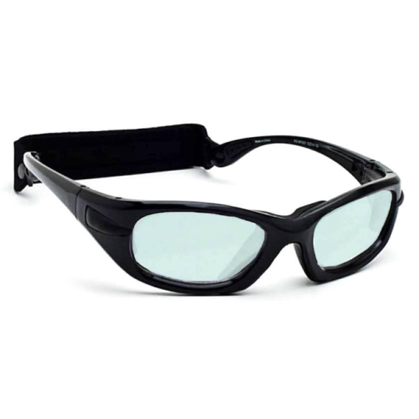 Model EGM Radiation/Laser (Holmium/Yag/CO2) Combination Glasses - Black