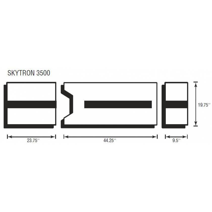 Skytron 3500 3 Piece Table Pad Set