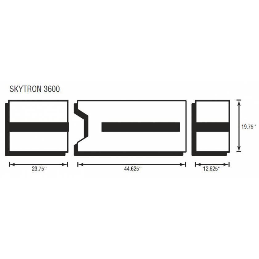 Skytron 3600 3 Piece Table Pad Set