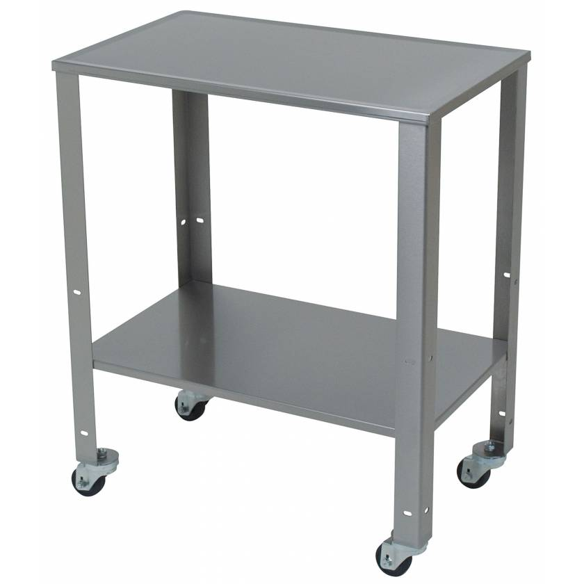 Rolling Stainless Steel Baby Scale Cart