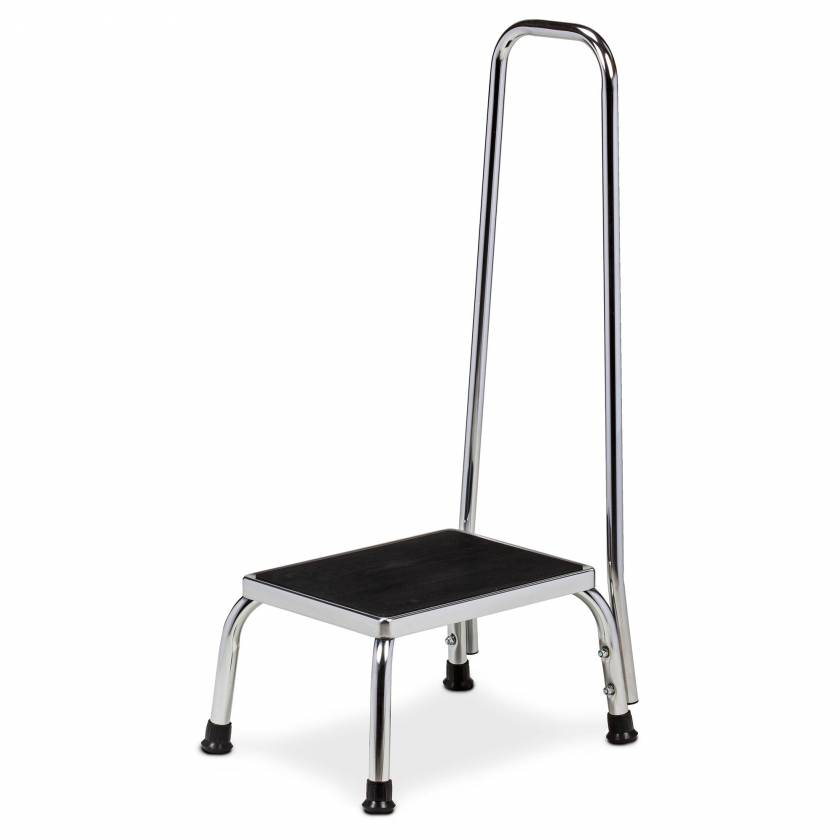 Clinton Model T-50 Step Stool with Hand Rail