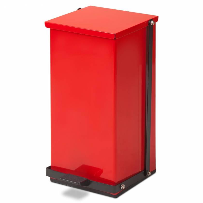 Clinton Model TP-32R 32 Quart Premium Red Waste Receptacle