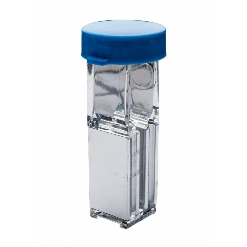 2 mm Gap Sterile Electroporation Cuvette - Round Lid