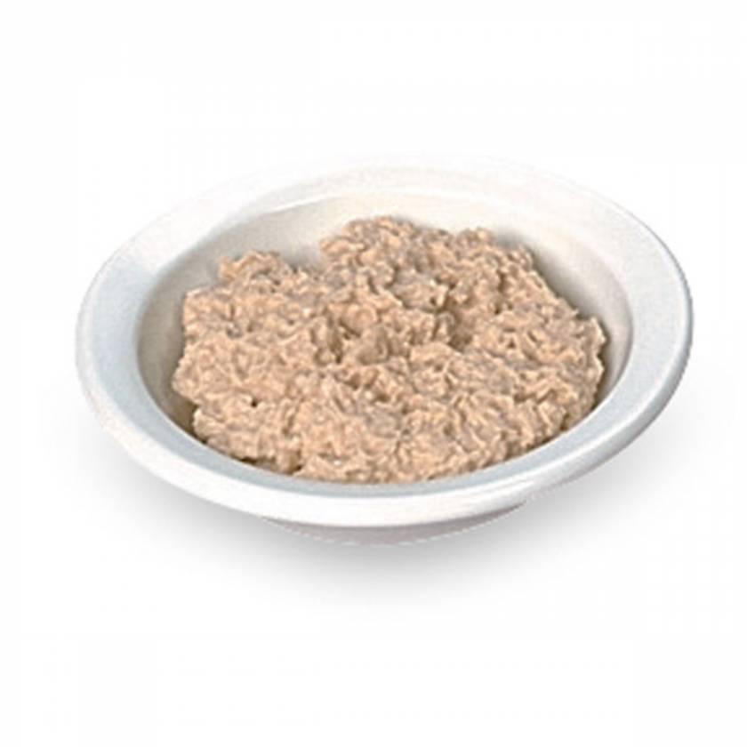 Life/form Oatmeal Food Replica - 1/2 cup (120 ml)
