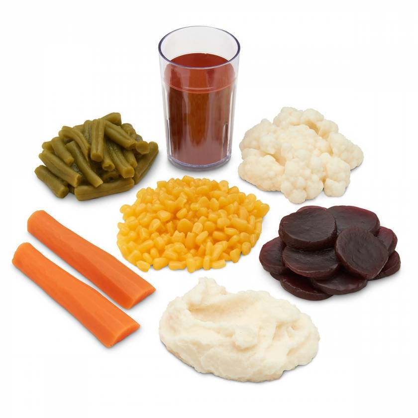 Life/form Basic Vegetable Food Replica Kit
