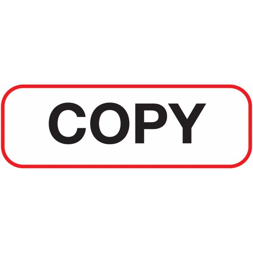 COPY Label