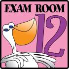 Exam Room 12 Sign
