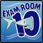 Clinton Ocean Series Exam Room 10 Sign