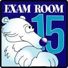 Clinton Exam Room 15 Sign