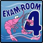 Clinton Ocean Series Exam Room 4 Sign