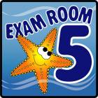 Clinton Ocean Series Exam Room 5 Sign