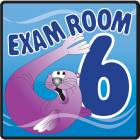 Clinton Ocean Series Exam Room 6 Sign