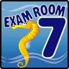 Clinton Ocean Series Exam Room 7 Sign