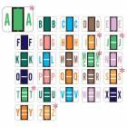 "File Doctor Match FDAV Series Alpha Roll Labels - 1""H x 1 1/4""W"