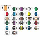 """Jeter 5800 Match JT3R Series Alpha Sheet Labels - 15/16""""H x 1 5/8""""W"""