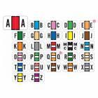 """Safeguard 511 Match SG3R Series Alpha Sheet Labels - 15/16""""H x 1 5/8""""W"""