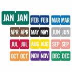 "Tab Products Match TMLV Series Month Code Roll Labels - 1/2""H x 1""W"