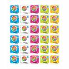 MyPlate 1-1/2 x 1-1/2 Stickers - Package of 25 Sheets - 30 Stickets/Sheet - 750 Stickers Total