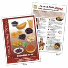 Food Group TearPad - Fruit Group - 8-1/2 x 11 - 50 Sheets
