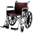 """20"""" Wide Non-Magnetic Wheelchair with Detachable Footrests"""