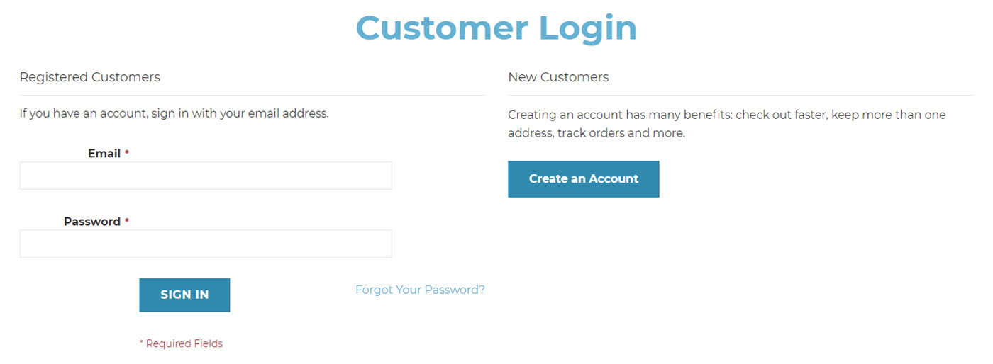 universal medical custom login screen